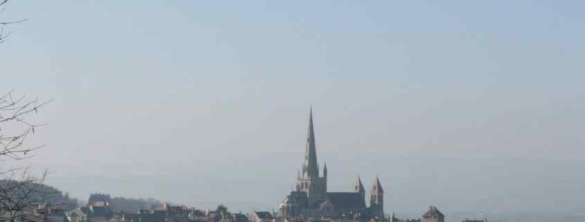 Autun ligt in Bourgondië