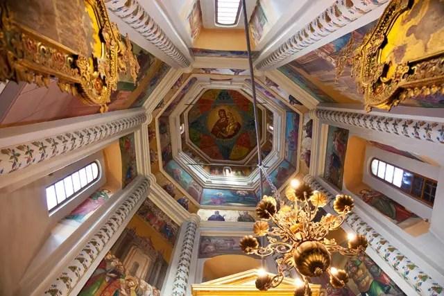 Moskou - Basilius cathedral interior