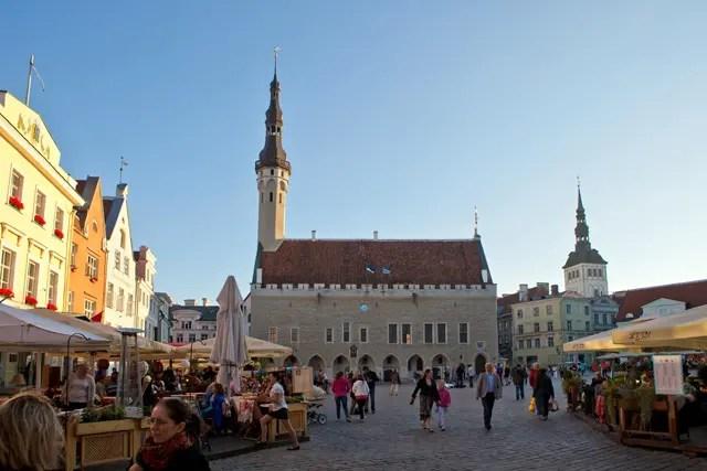 Tallinn Centrum Plein