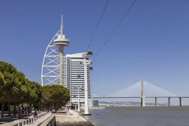 Lissabon Torre Vasco da Gama