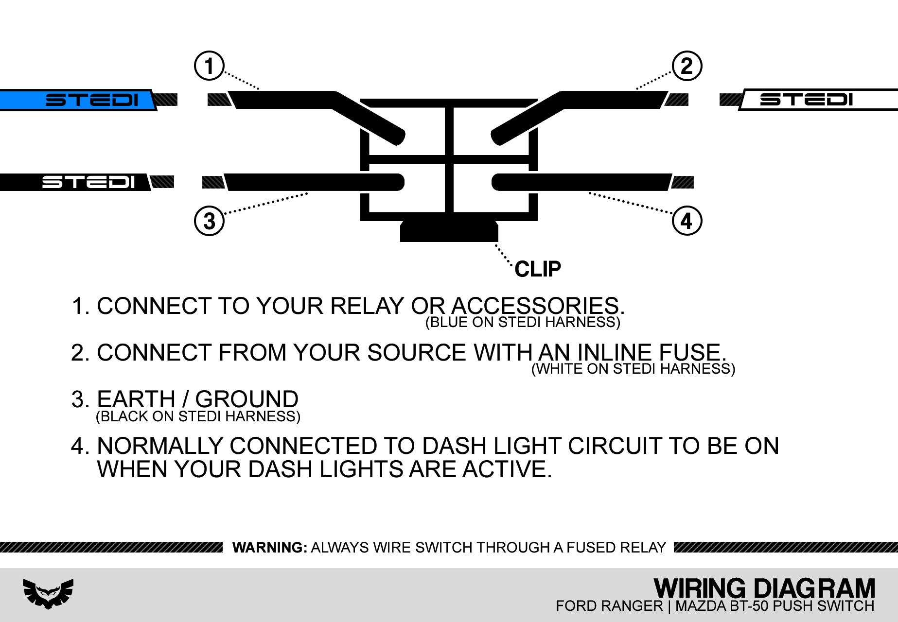 Wiring Light Instructions Led Bar