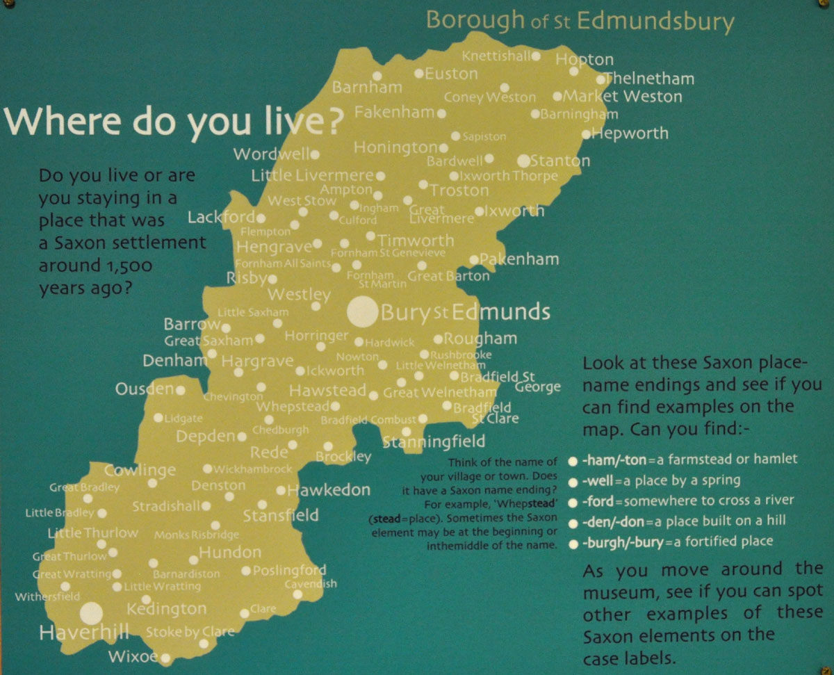 St Edmundsbury Local History