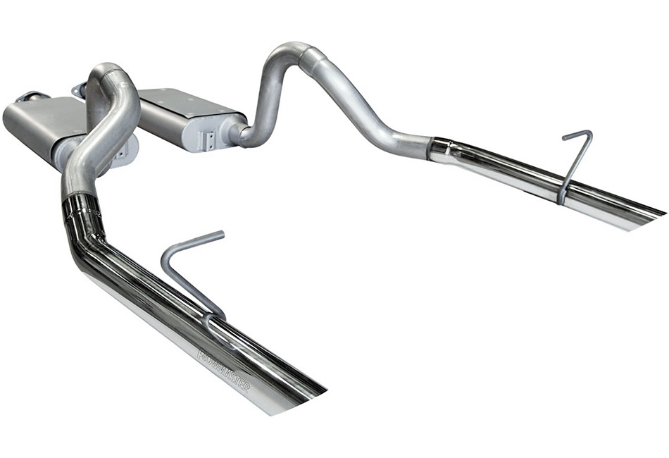 flowmaster 17203 mustang lx force ii cat back exhaust 1985 1993
