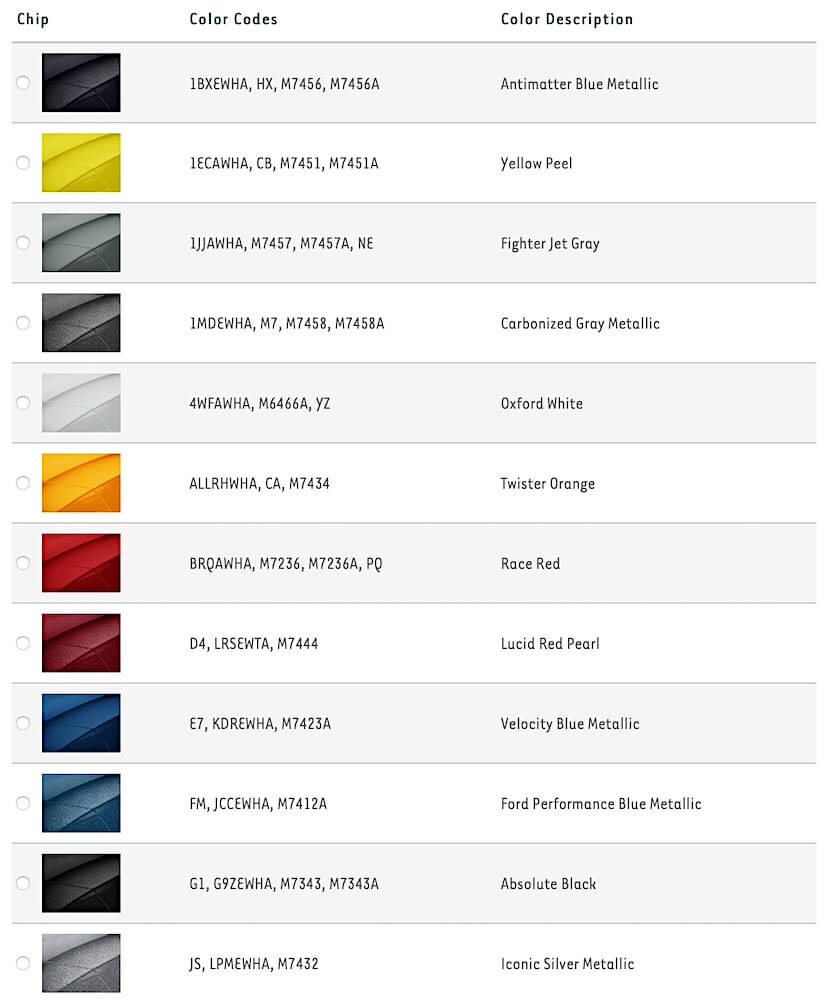 In such page, we additionally have number of images out there. Best 2021 Mustang Paint Colors And Codes Steeda
