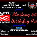Mustang 45th Celebration at Barber Motorsports Park