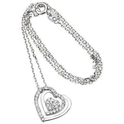 SR 316 Silberkette mit Herz