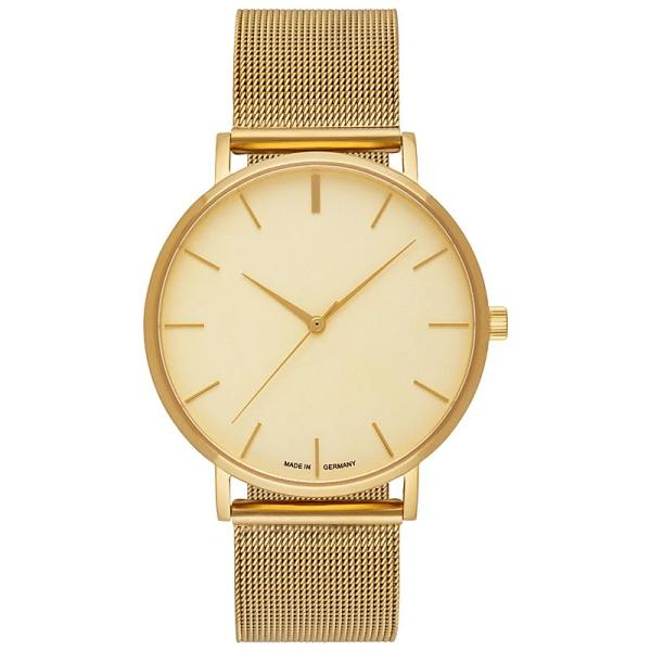 Uhr mit gravur gold-gold