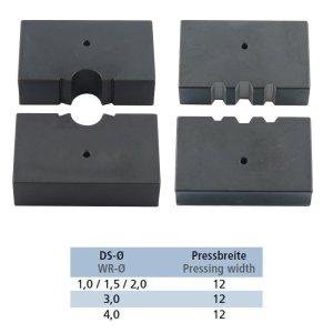 Presseinsätze für Pressklemmen Steelando hydraulische Presszange