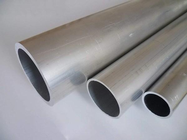 rohes Aluminiumrohr Originalbild