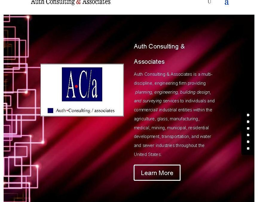 Auth Consulting & Associates Website