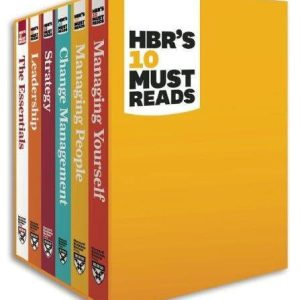Harvard Business School Must Reads, a 6 box set, also available on Kindle