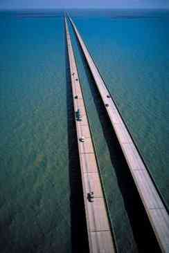 Lake Pontchartrain Causeway overview