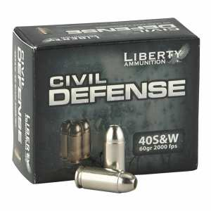 .40 S&W | Liberty - Fragmenting HP - 60 Grains - 20 Rounds