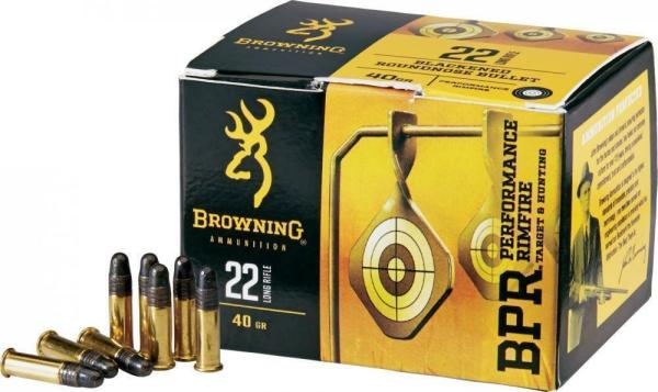 22 LR | Browning Performance Rimfire - LRN - 40 Grains - 400 Rounds