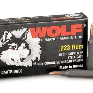 .223 | Wolf - FMJ Steel Cased - 55 Grains - 1000 Rounds (FREE SHIPPING)