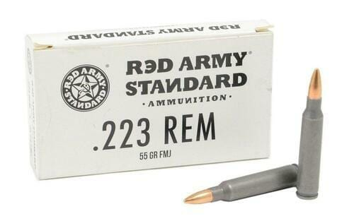 .223 | Century Red Army - FMJ - 55 Grains - 1000 Round Case (FREE SHIPPING)