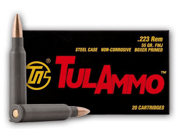 .223 | Tula - FMJ - 55 Grains - 1000 Round Case (FREE SHIPPING)