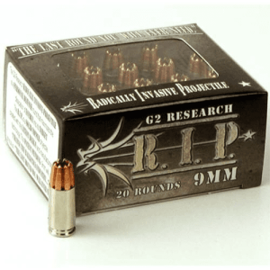 9mm Luger | G2 RIP - HP - 96 Grains - 20 Rounds
