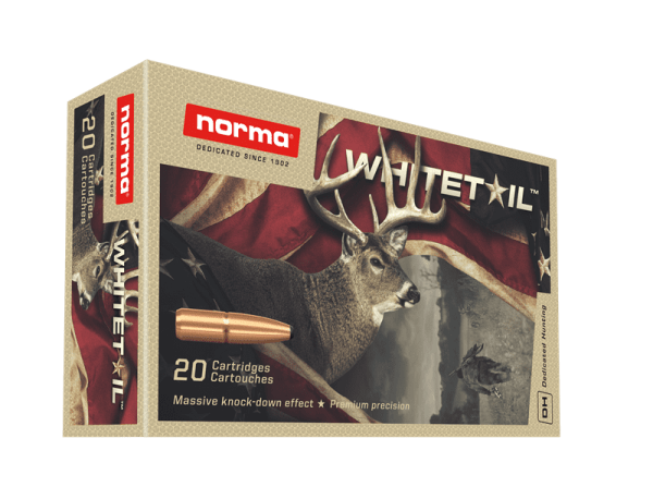 Norma 300 Win Mag 150 grain White Tail JSP 20 rounds