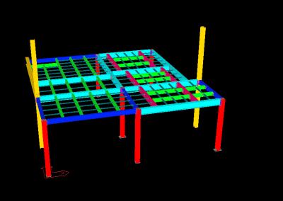 FMCSA HVAC Mezzanine – Industrial Development