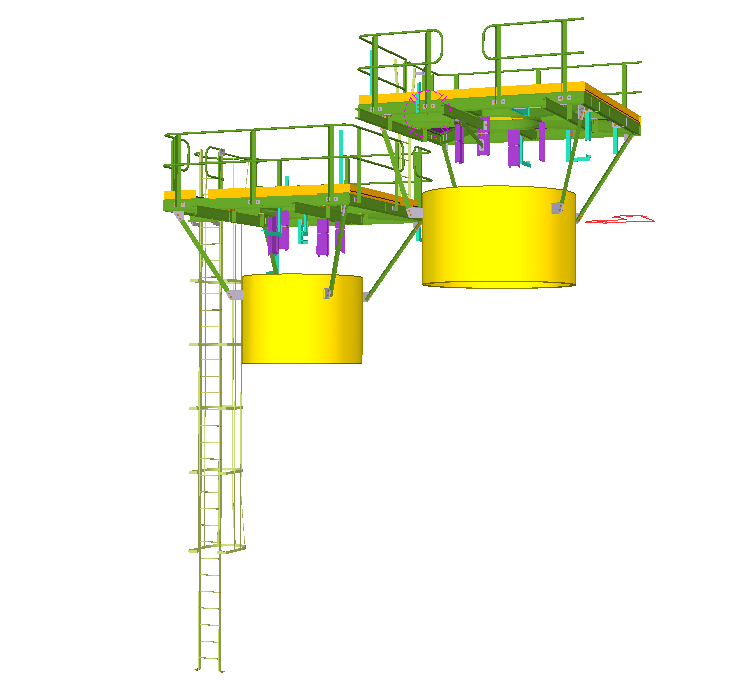 H403 Steel Platform – Industrial Development