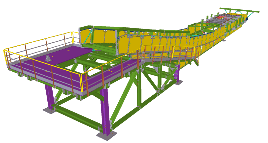 Conveyor 01G-CV- Industrial Development