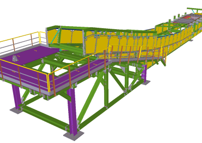 Conveyor 01G-CV- Industrial Development