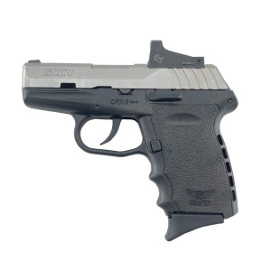SCCY CPX-2 9MM Pistol CPX-2TTRDDE - BlackStainless