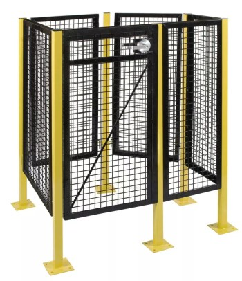 Machine Guard Safety Fence HD Series Sample Cell