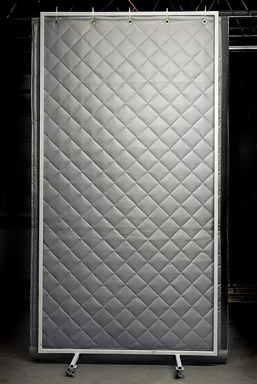 acoustic screen portable sound barrier