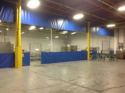 How Warehouse Curtains Divide Rooms