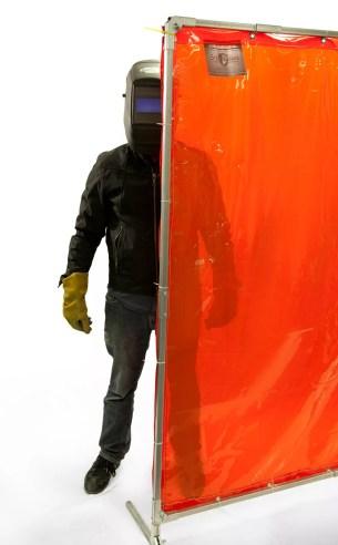 Welding Barrier Curtains