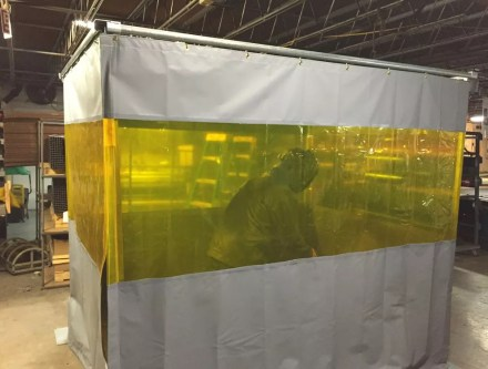 Welding Booth Curtains & Cells