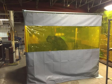 Welding Booth Curtain