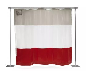 Steel Guard's industrial curtains are made using propriety Steel-Scrim® super polyester reinforced vinyl laminate.