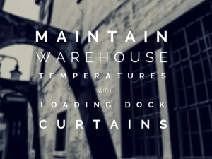 Loading dock curtains