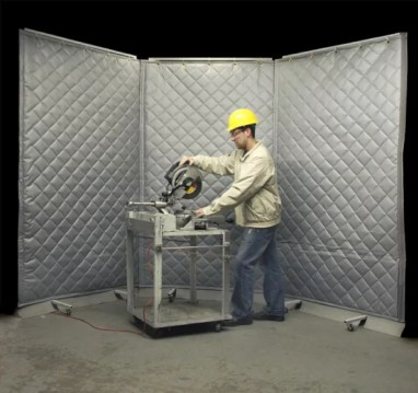 Block Sound with Industrial Sound Curtains