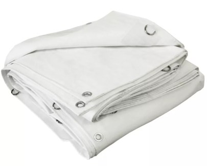 White Poly Tarp Extra Heavy Duty - 12 Mil