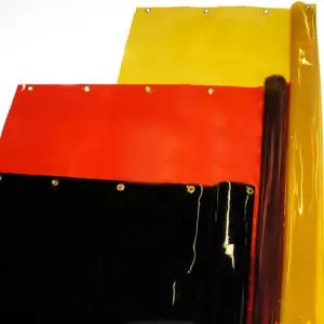 Welding Curtain Rolls Available Weld-View Orange, Yellow, or Green Shade 8