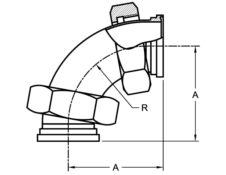 Pv2e Apc 90 Degree Elbow Plain Ends