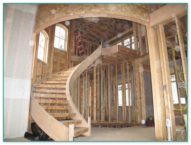Wooden Spiral Staircase With Slide | Spiral Staircase For Sale