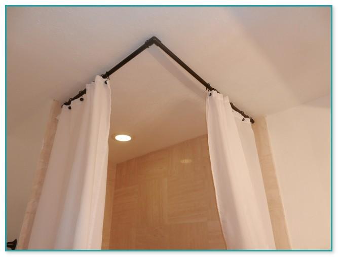 ceiling curtain rod brackets home depot