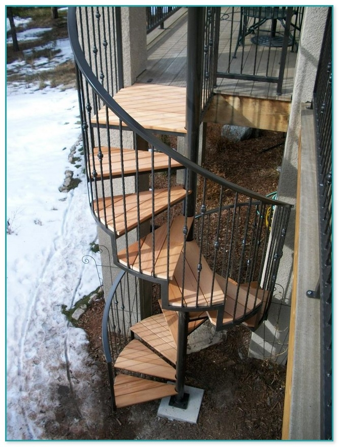 Exterior Spiral Staircase Prices | Outdoor Spiral Staircase Cost