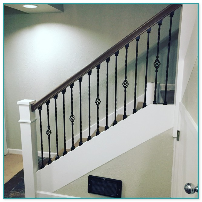 Beau Wrought Iron Spindles For Staircase Uk