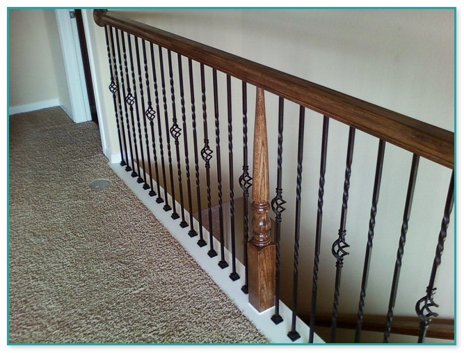 Black Wrought Iron Stair Spindles | Metal Spindles Home Depot
