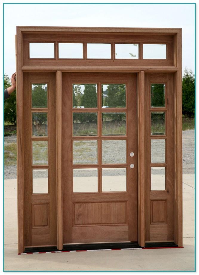 patio door with vented sidelites