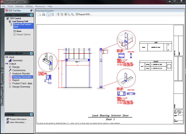 Load Bearing Wall Detail Cold Formed Steel Design Software Training