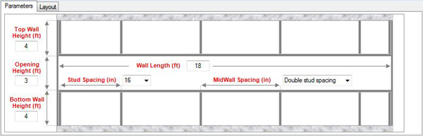 MidWall Parameters