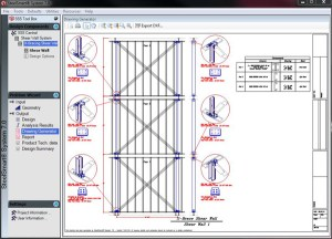 LSF Shear Wall Connection Detail