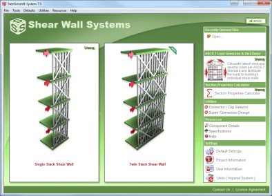 Shear Wall System Updates